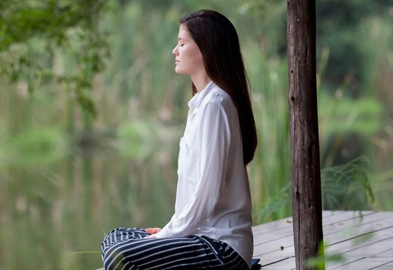 What is conscious breathing?