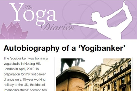 Autobiography of a 'Yogibanker'